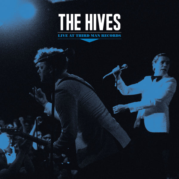 THE HIVES LIVE AT THIRD MAN RECORDS BLACK VINYL