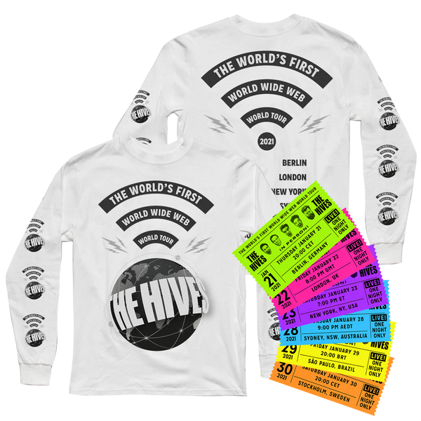 WWW Globe Long Sleeve + Livestream Ticket