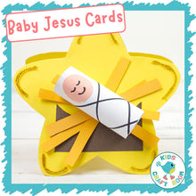 Load image into Gallery viewer, Baby Jesus Christmas Cards
