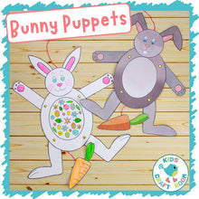 Load image into Gallery viewer, Bunny Puppets
