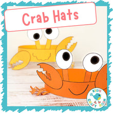 Load image into Gallery viewer, Crab Hats