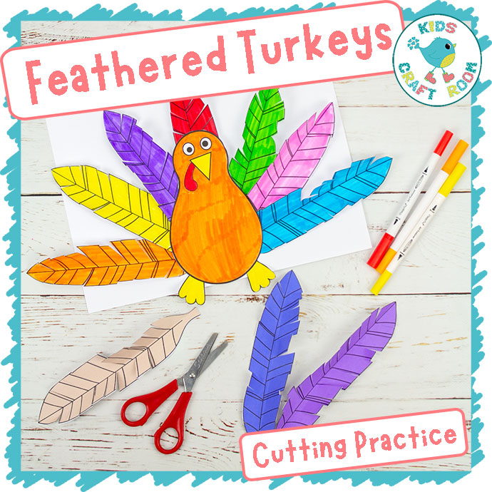Feathered Turkeys - Cutting Practice