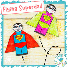Load image into Gallery viewer, Flying Superdad