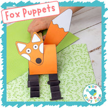 Load image into Gallery viewer, Fox Puppets