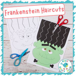 Frankenstein Halloween Haircuts