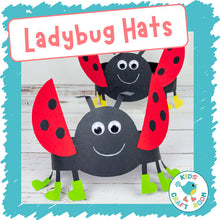 Load image into Gallery viewer, Ladybug Hats