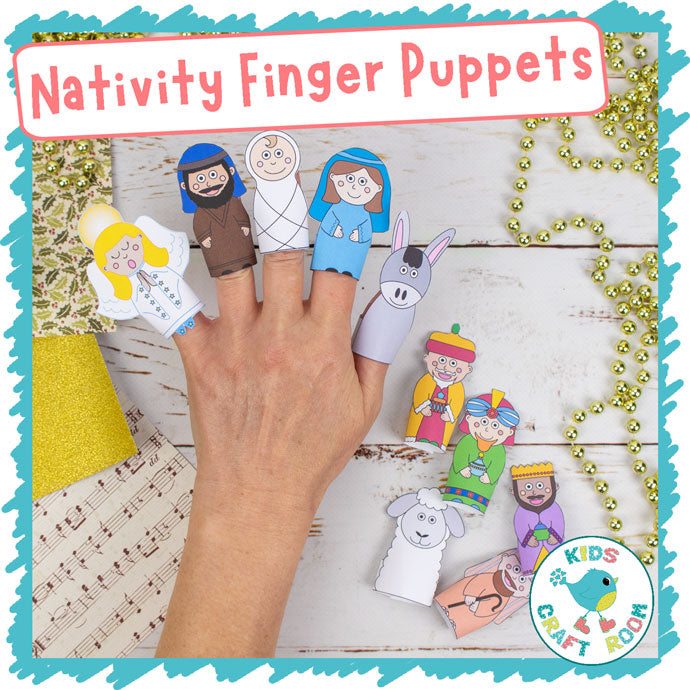 Nativity Finger Puppets