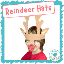 Load image into Gallery viewer, Reindeer Hats