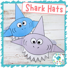 Load image into Gallery viewer, Shark Hats