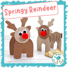 Load image into Gallery viewer, Springy Reindeer
