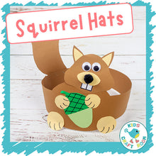 Load image into Gallery viewer, Squirrel Hats