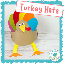 Load image into Gallery viewer, Turkey Hats