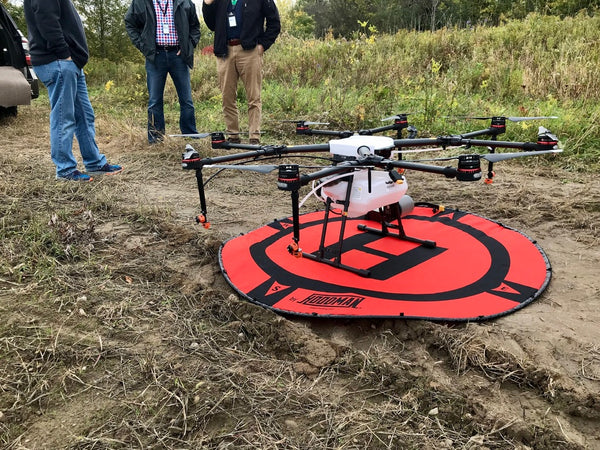 Empire Drone Company Receives FAA Approval To Spray Crops By Drone