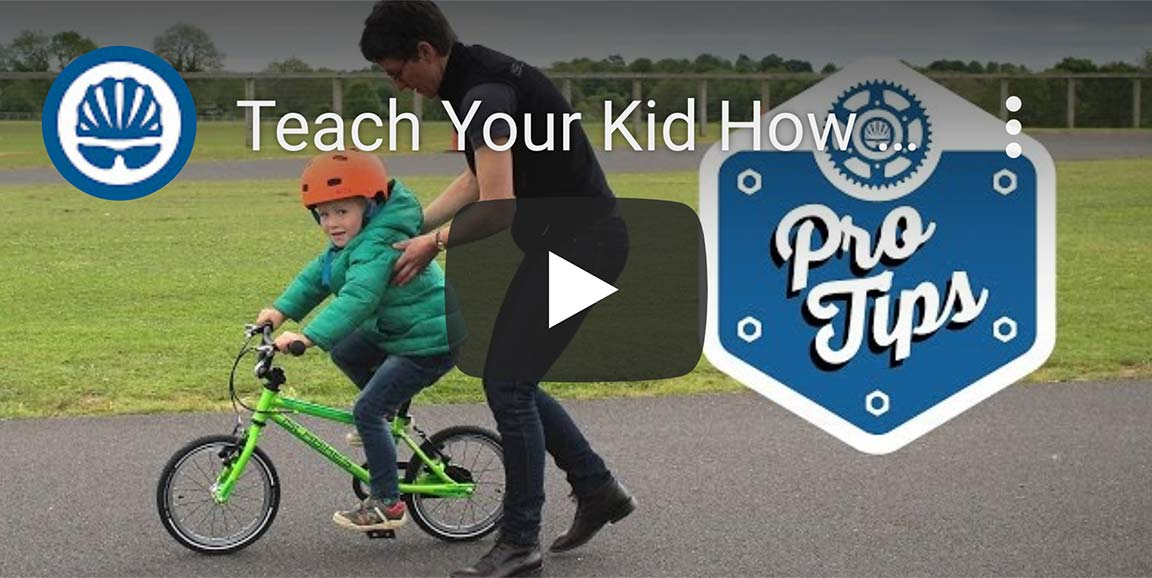 How to teach your child to ride