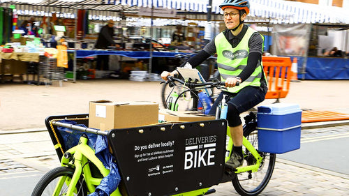 Deliveries by bike