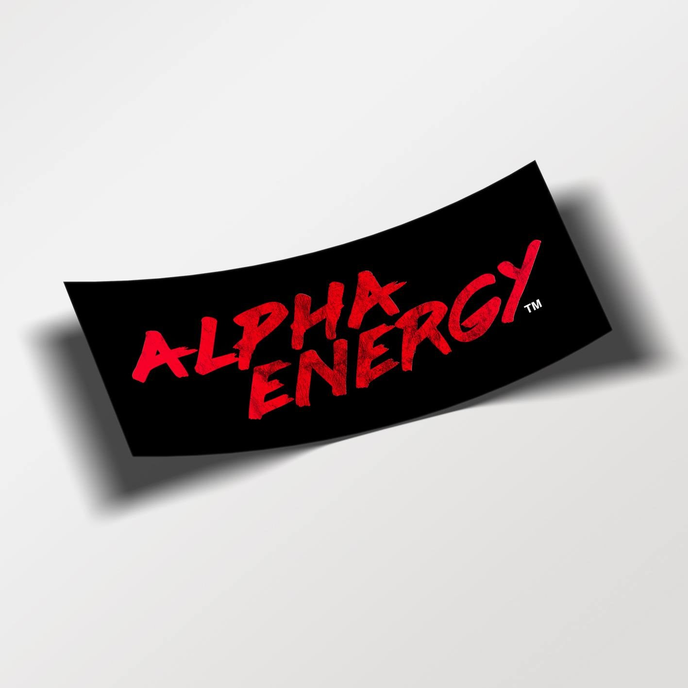 Alpha Energy™ Sticker