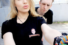 Load image into Gallery viewer, Black Pathetic Lewser Unisex Tee