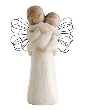 Willow Tree Figur Angel's Embrance #26084 14cm Neu & OVP