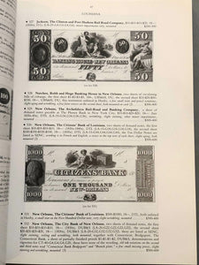 Important Early American Bank Notes 1810 - 1874 Christies Katalog 40212