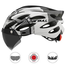 Load image into Gallery viewer, Cyclix™ Ultralight LED Bicycle Helmet with Visor