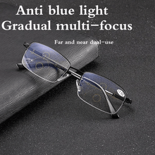Load image into Gallery viewer, German intelligent color Progressive Auto Focus reading glasses—See more clearly!