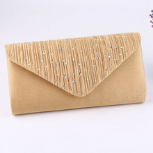Load image into Gallery viewer, 2019 The Newest Fashion Bags Suit More Clothing Women's Diamonte Envelope Clutch Shoulder Bag Purse Wedding Bridal Prom HandBags