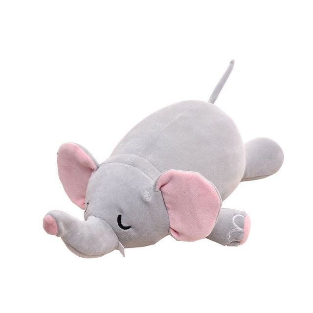 Creative Travel Neck Pillow Changeable Animals U Shape Pillow 2 in 1 Elephant Pig Penguin Plush Toys Stuffed Dolls Neck Rest Hot