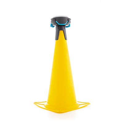 BlazePod Cone Kit Accessory on Yellow Cone