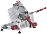 "Berkel   9"" 1/4 hp manual gravity feed slicer- 823E"