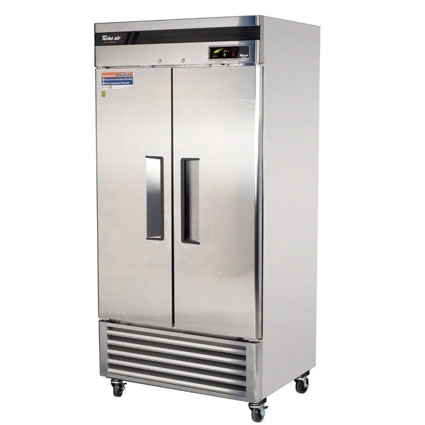 Turbo-Air 2 Solid Door Reach-In Refrigerator- TSR-35SD