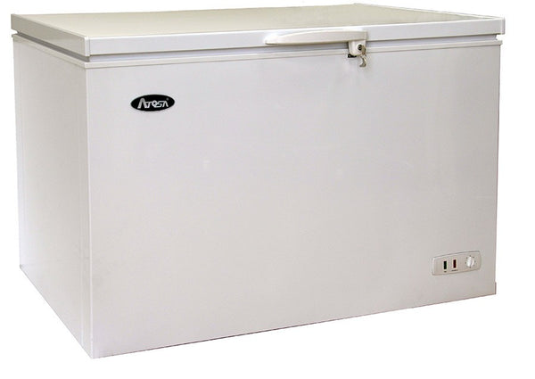 "50"" Solid Top, White Chest Freezer"