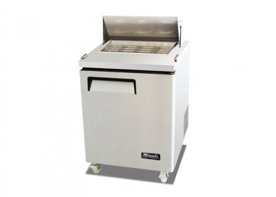 Migali Refrigeration,12 Pan Megatop Sandwich Prep Unit- C-SP27-12BT