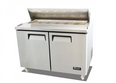 Migali Refrigeration,12 Pan Sandwich Prep Unit- C-SP48-12-HC