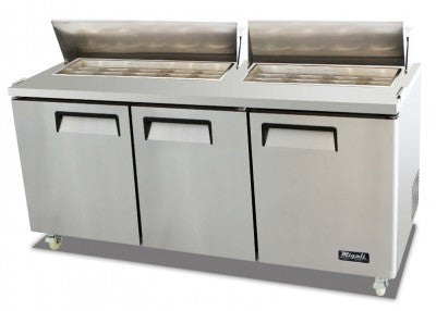 Migali Refrigeration, Sandwich Prep Unit- C-SP72-18-HC