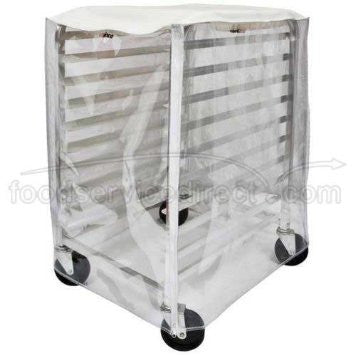 cover for 10 tier sheet pan rack, clear