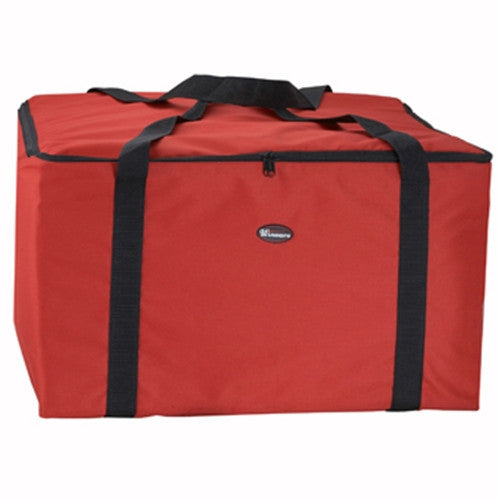 "Delivery Bag, 22""x22""x13"", Red/Black"