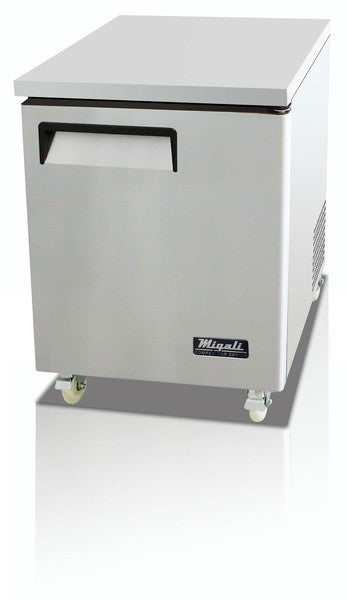 Migali Refrigeration, Under counter / Worktop Freezer- C-U27F