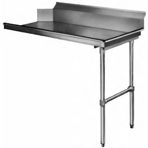 KCS Metal CLEAN Dish Table Right Side, Straight- KCSCD-60R