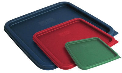 Green food storage container, fits 2 & 4 Qt. Container