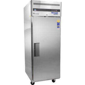 One Section Solid Door Freezer