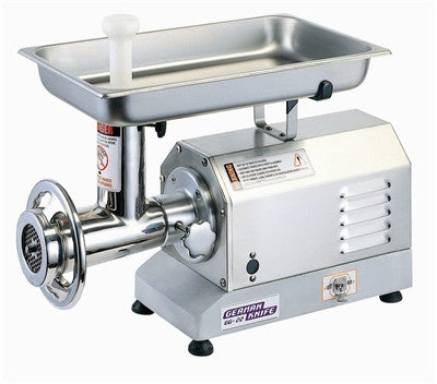 German Knife Table Meat Grinder, 1.5 HP All Gear Drive- GG-22