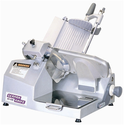 German Knife Heavy Duty Manual Meat Slicer (Gear Drive)- GS-12M