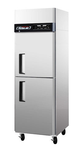 Turbo-Air Solid Door Dual Temp. Refrigerator/ Freezer- JRF-19