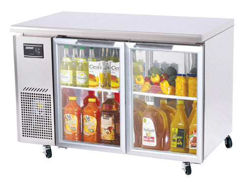 Turbo-Air Glass Door Under counter Refrigerator- JUR-48-G