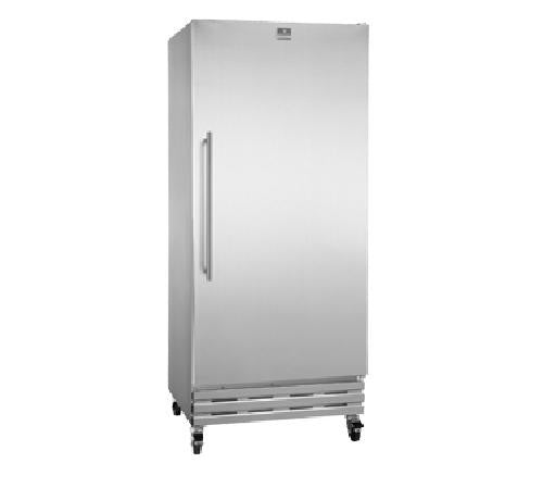 One Section Single Solid Door Reach-in Freezer