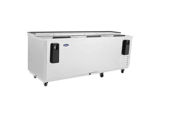 "95"" Solid S/S Slide Top Bottle Cooler"