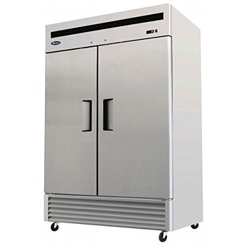 "2 Door Reach-in Refrigerator, 54"", Solid S/S Doors"