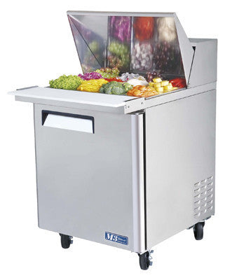 Turbo-Air 3' Mega Top Refrigerated Sandwich Unit- MST-28-12