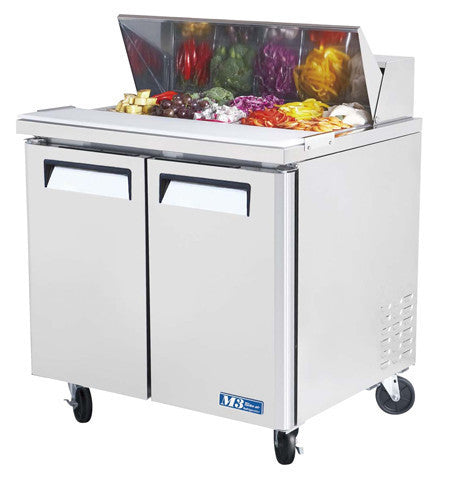 Turbo-Air 3' Refrigerated Counter Sandwich/Salad Unit- MST-36