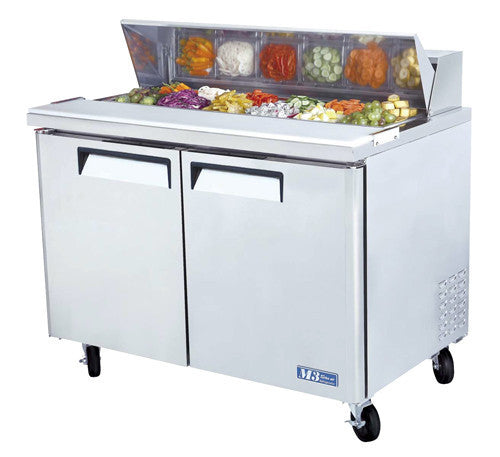 Turbo-Air 4' Refrigerated Counter Sandwich/ Salad Unit- MST-48